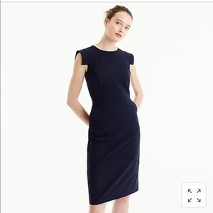 Navy JCrew Resume Dress